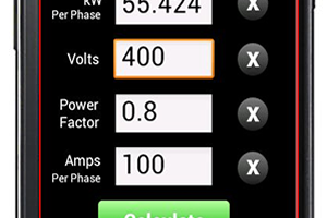 kVA Calculator App for Android | Electrical Apps