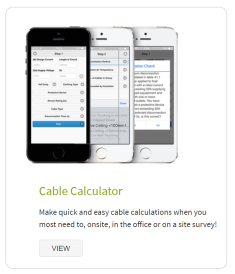 Cable Calculator App